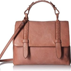 Frye Reed Flap Satchel Handbag Crossbody